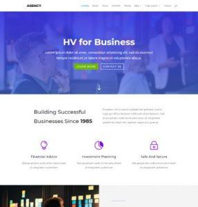 free agency wordpress theme