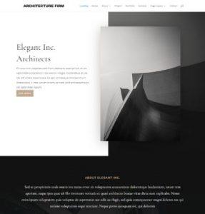 free architecture firm wordpress theme