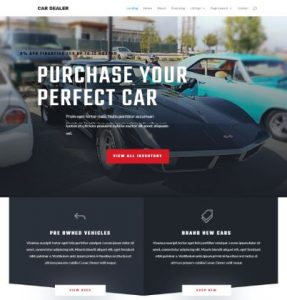 free car dealer wordpress theme