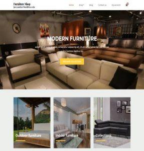 free furniture shop wordpress theme