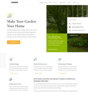 free garden wordpress theme