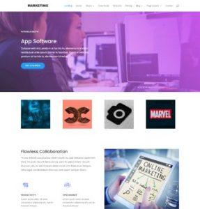 free software marketing wordpress theme